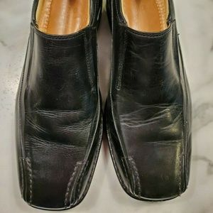 Sandro Moscolini Size 7D Shoes Black Loafers